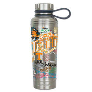 Tennessee, University of Collegiate Thermal Bottle - catstudio
