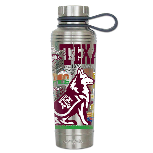 Texas A&M University Collegiate Thermal Bottle - catstudio
