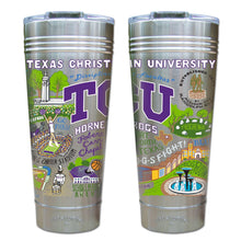 Load image into Gallery viewer, Texas Christian University (TCU) Collegiate Thermal Tumbler (Set of 4) - PREORDER Thermal Tumbler catstudio