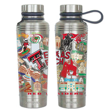 Load image into Gallery viewer, Texas Tech University Collegiate Thermal Bottle - catstudio