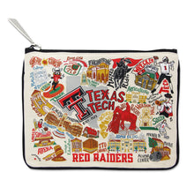 Load image into Gallery viewer, Texas Tech University Collegiate Zip Pouch - catstudio