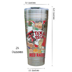 Texas Tech University Collegiate Thermal Tumbler (Set of 4) - PREORDER Thermal Tumbler catstudio