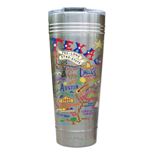 Texas Thermal Tumbler (Set of 4) - PREORDER Thermal Tumbler catstudio