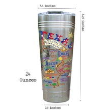 Load image into Gallery viewer, Texas Thermal Tumbler (Set of 4) - PREORDER Thermal Tumbler catstudio
