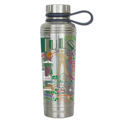 Tulsa Thermal Bottle - catstudio