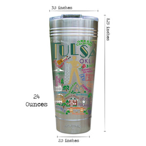 Tulsa Thermal Tumbler (Set of 4) - PREORDER Thermal Tumbler catstudio