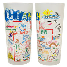 Load image into Gallery viewer, Utah Drinking Glass - catstudio