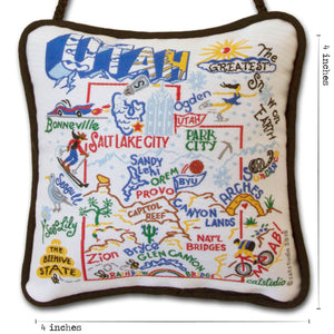 Utah Mini Pillow Pillow catstudio