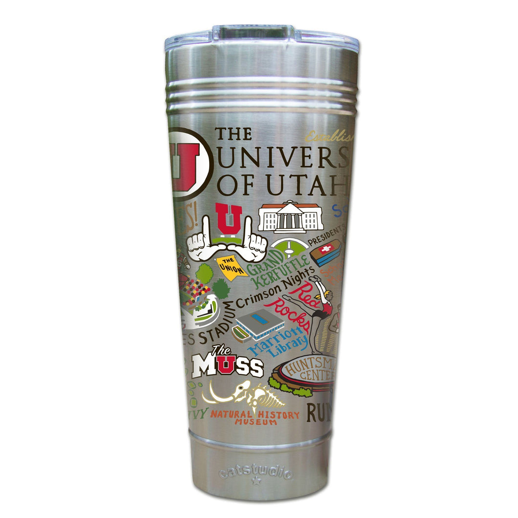 Utah, University of Collegiate Thermal Tumbler (Set of 4) - PREORDER Thermal Tumbler catstudio