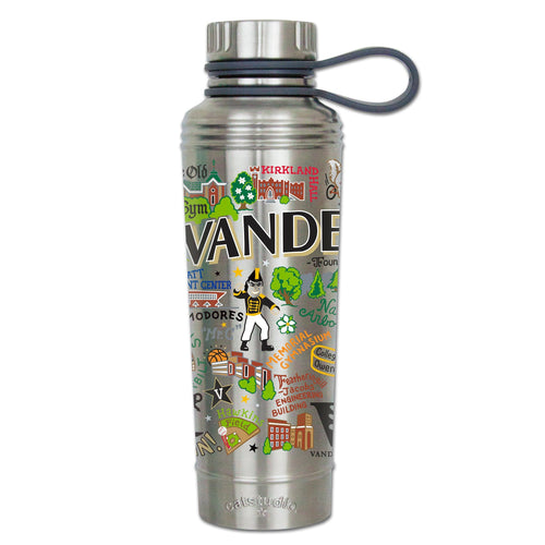 Vanderbilt University Collegiate Thermal Bottle - catstudio