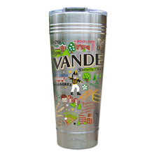 Load image into Gallery viewer, Vanderbilt University Collegiate Thermal Tumbler (Set of 4) - PREORDER Thermal Tumbler catstudio