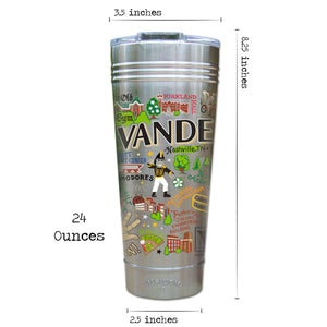Vanderbilt University Collegiate Thermal Tumbler (Set of 4) - PREORDER Thermal Tumbler catstudio