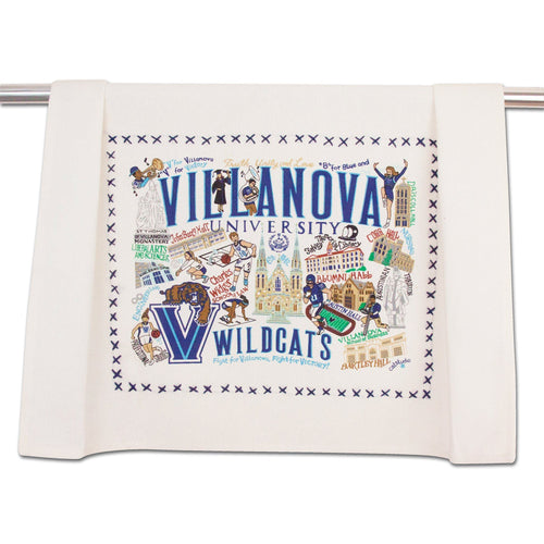 Villanova University Collegiate Dish Towel - catstudio