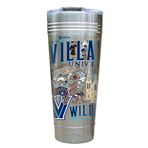 Villanova University Collegiate Thermal Tumbler (Set of 4) - PREORDER Thermal Tumbler catstudio