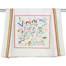 Load image into Gallery viewer, Virgin Islands Dish Towel - catstudio