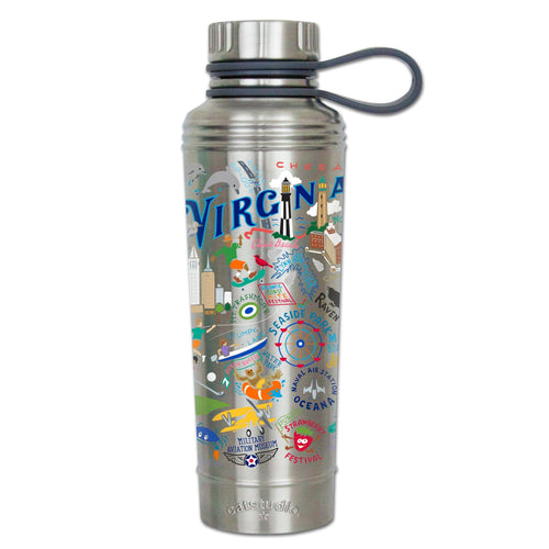 Virginia Beach Thermal Bottle Thermal Bottle catstudio