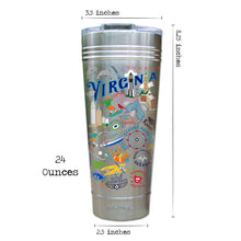 Load image into Gallery viewer, Virginia Beach Thermal Tumbler (Set of 4) - PREORDER Thermal Tumbler catstudio