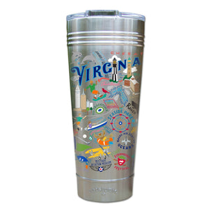 Virginia Beach Thermal Tumbler (Set of 4) - PREORDER Thermal Tumbler catstudio
