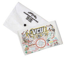 Load image into Gallery viewer, Virginia Commonwealth University (VCU) Collegiate Dish Towel - catstudio