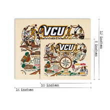 Load image into Gallery viewer, Virginia Commonwealth University (VCU) Collegiate Fine Art Print - catstudio