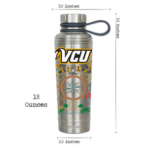 Virginia Commonwealth University (VCU) Collegiate Thermal Bottle - catstudio