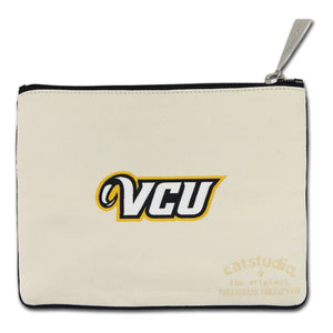 Virginia Commonwealth University (VCU) Collegiate Zip Pouch - catstudio