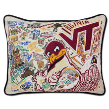 Load image into Gallery viewer, Virginia Tech Collegiate Embroidered Pillow Pillow catstudio