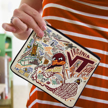 Load image into Gallery viewer, Virginia Tech Collegiate Pouch Pouch catstudio