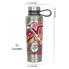 Load image into Gallery viewer, Virginia Tech Collegiate Thermal Bottle - catstudio