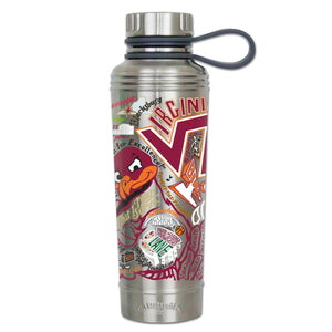 Virginia Tech Collegiate Thermal Bottle - catstudio