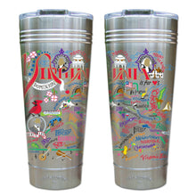Load image into Gallery viewer, Virginia Thermal Tumbler (Set of 4) - PREORDER Thermal Tumbler catstudio