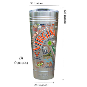 Virginia, University of Collegiate Thermal Tumbler (Set of 4) - PREORDER Thermal Tumbler catstudio