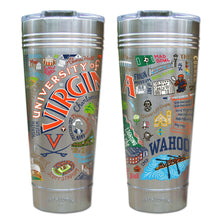 Load image into Gallery viewer, Virginia, University of Collegiate Thermal Tumbler (Set of 4) - PREORDER Thermal Tumbler catstudio