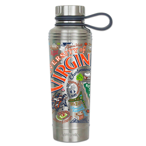 Virginia, University of Collegiate Thermal Bottle - catstudio