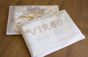 Virgo Astrology Dish Towel Dish Towel catstudio