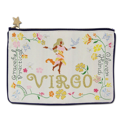 Virgo Astrology Zip Pouch - catstudio