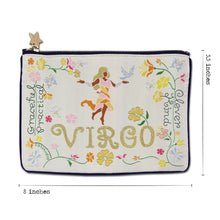 Load image into Gallery viewer, Virgo Astrology Zip Pouch Pouch catstudio
