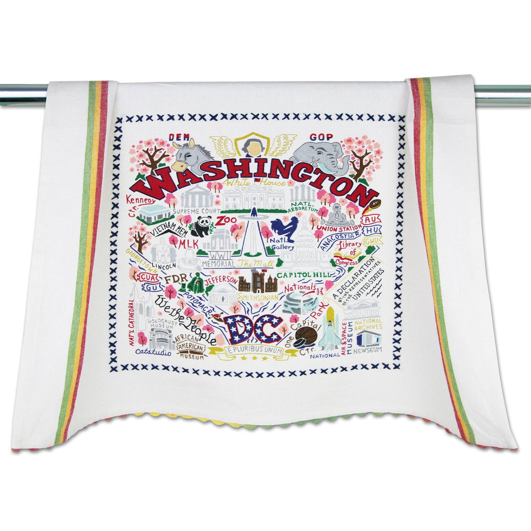 Washington DC Dish Towel Dish Towel catstudio