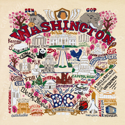 Washington DC Fine Art Print Art Print catstudio