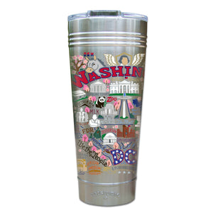 Washington DC Thermal Tumbler (Set of 4) - PREORDER Thermal Tumbler catstudio