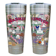 Load image into Gallery viewer, Washington DC Thermal Tumbler (Set of 4) - PREORDER Thermal Tumbler catstudio