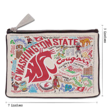 Load image into Gallery viewer, Washington State University Collegiate Pouch Pouch catstudio