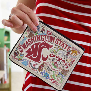 Washington State University Collegiate Pouch Pouch catstudio