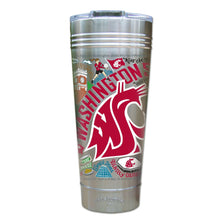 Load image into Gallery viewer, Washington State University Collegiate Thermal Tumbler (Set of 4) - PREORDER Thermal Tumbler catstudio