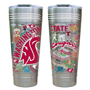 Washington State University Collegiate Thermal Tumbler (Set of 4) - PREORDER Thermal Tumbler catstudio