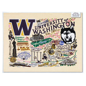 Washington, University of Collegiate Fine Art Print - catstudio