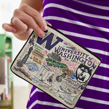 Load image into Gallery viewer, Washington, University of Collegiate Zip Pouch - catstudio