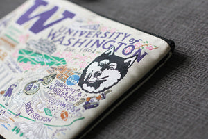 Washington, University of Collegiate Pouch Pouch catstudio