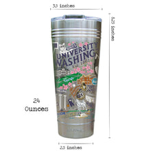 Load image into Gallery viewer, Washington, University of Collegiate Thermal Tumbler (Set of 4) - PREORDER Thermal Tumbler catstudio