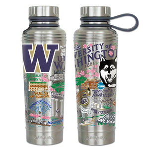 Washington, University of Collegiate Thermal Bottle - catstudio
